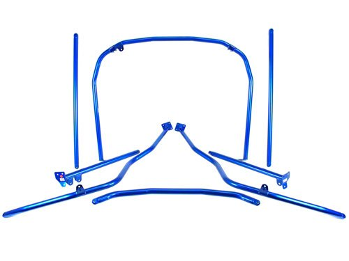 Cusco 681 261 L Chro-Moly Roll Cage 4 Passenger 7 Pt for BE5 B4