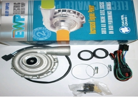 Davies Craig 12V Metal Electric Water Pump Kit - EWP115