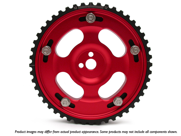 Fidanza 930666 Adjustable Cam Gear for Lexus/Toyota 3.0L - Red