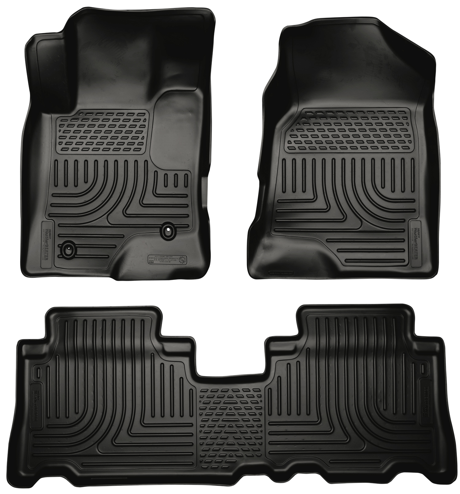 Husky Liners 96321 Front 2nd Seat Floor Liners