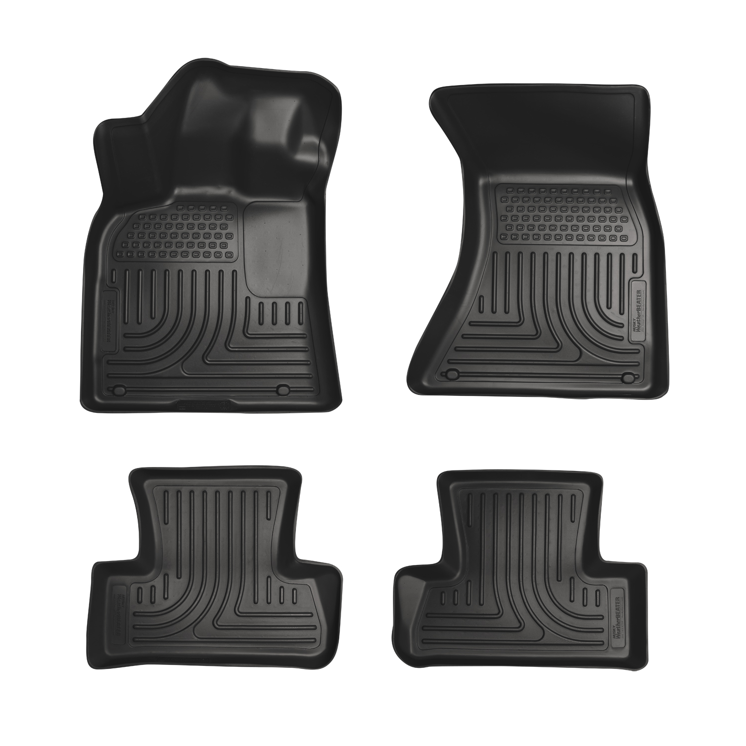 Husky Liners 96401 Front 2nd Seat Floor Liners