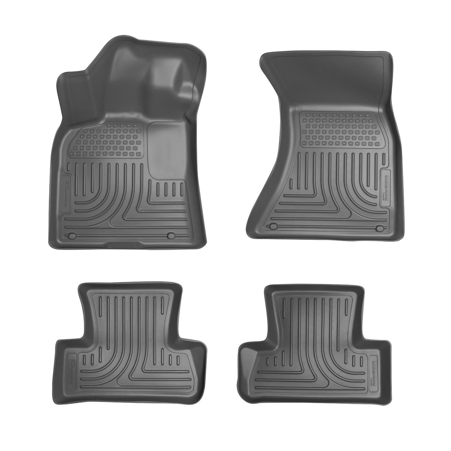 Husky Liners 96402 Front 2nd Seat Floor Liners