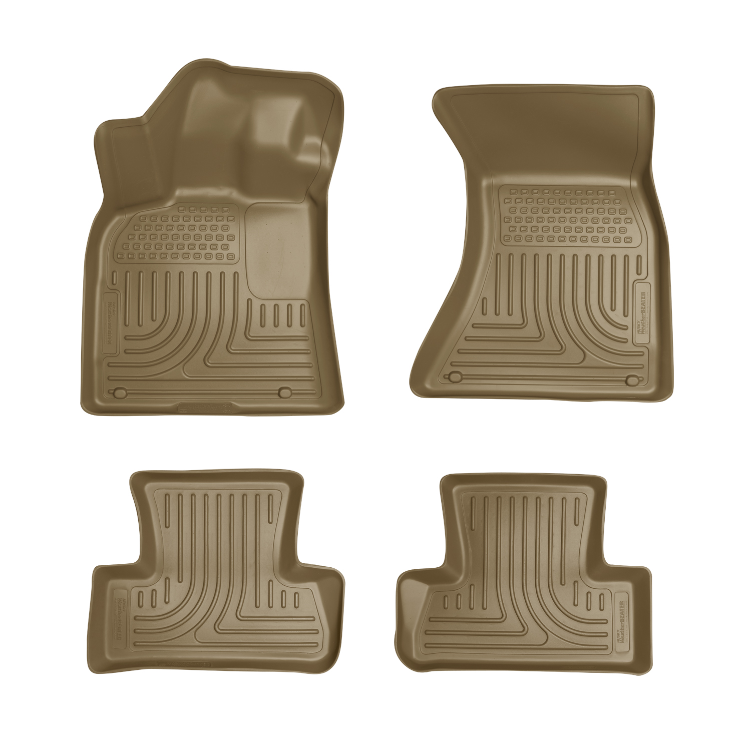 Husky Liners 96413 Front 2nd Seat Floor Liners