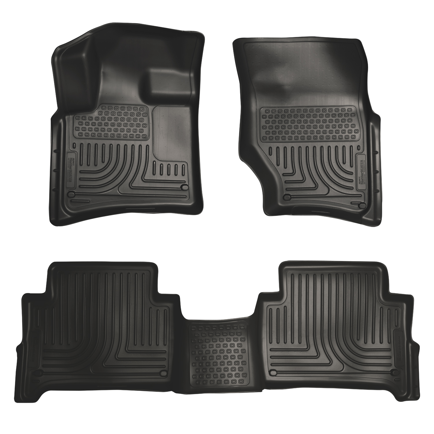 Husky Liners 96421 Front 2nd Seat Floor Liners