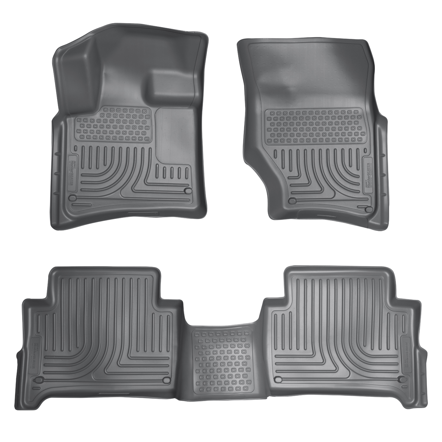 Husky Liners 96422 Front 2nd Seat Floor Liners