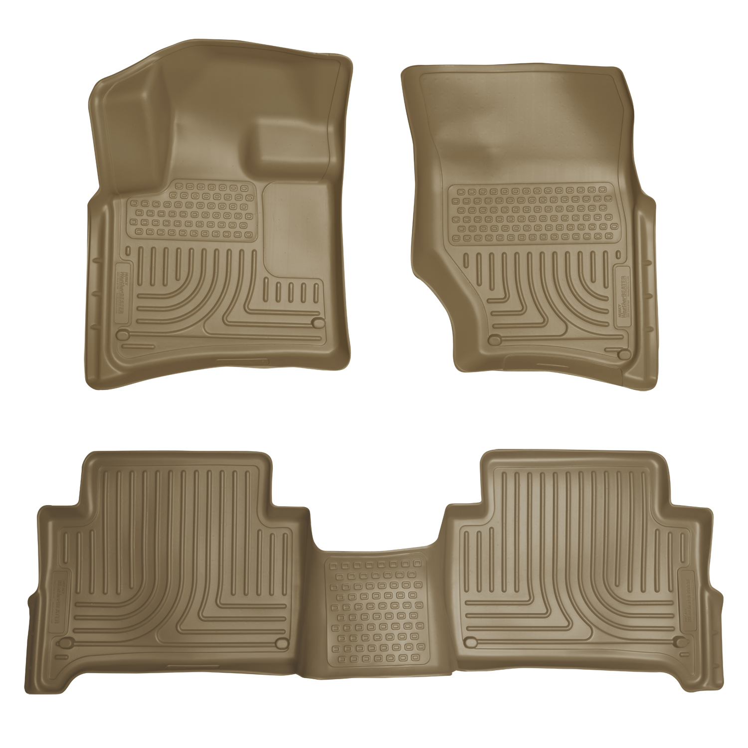 Husky Liners 96423 Front 2nd Seat Floor Liners