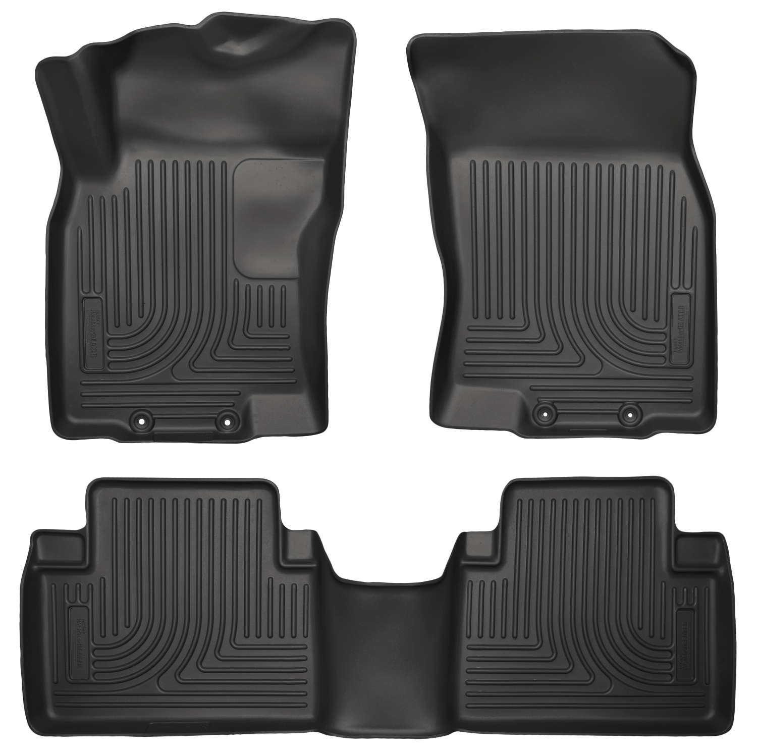 Husky Liners 98671 Front 2nd Seat Floor Liners