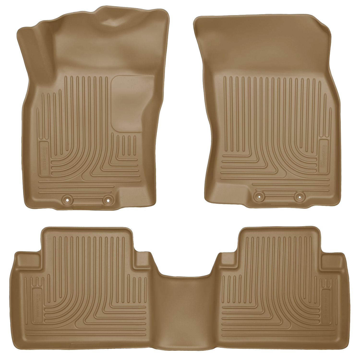 Husky Liners 98673 Front 2nd Seat Floor Liners