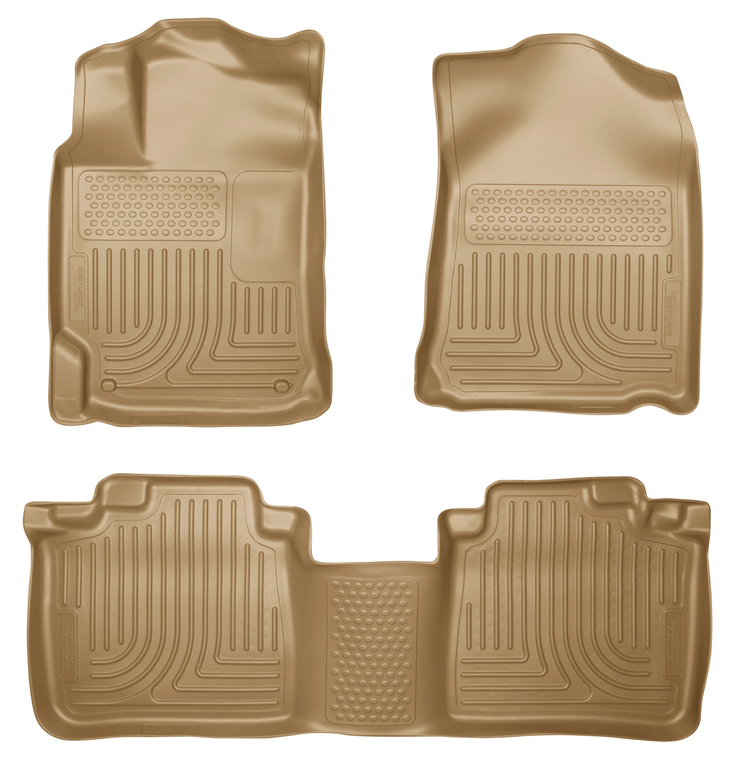 Husky Liners 98963 Front 2nd Seat Floor Liners