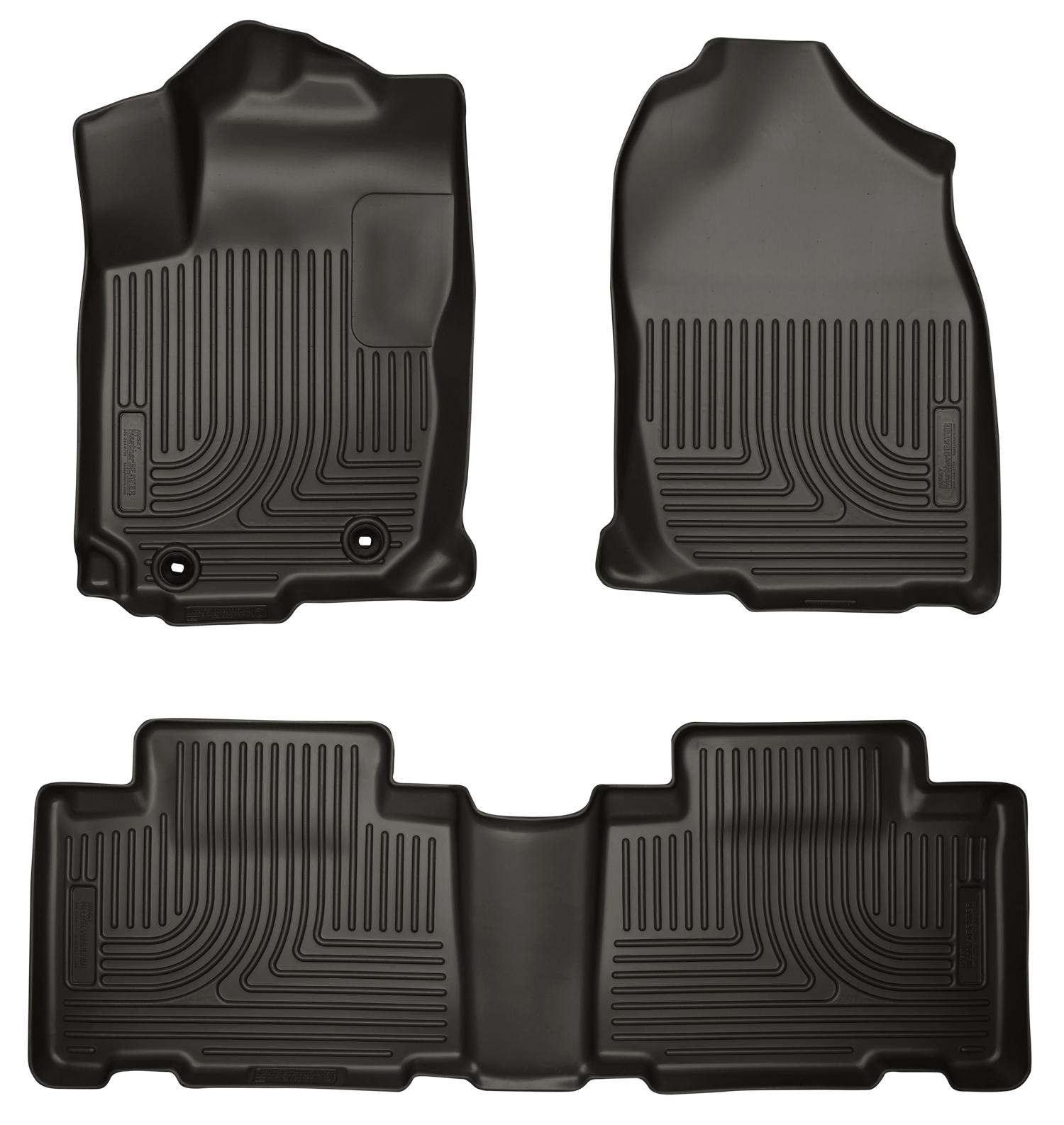Husky Liners 98971 Front 2nd Seat Floor Liners