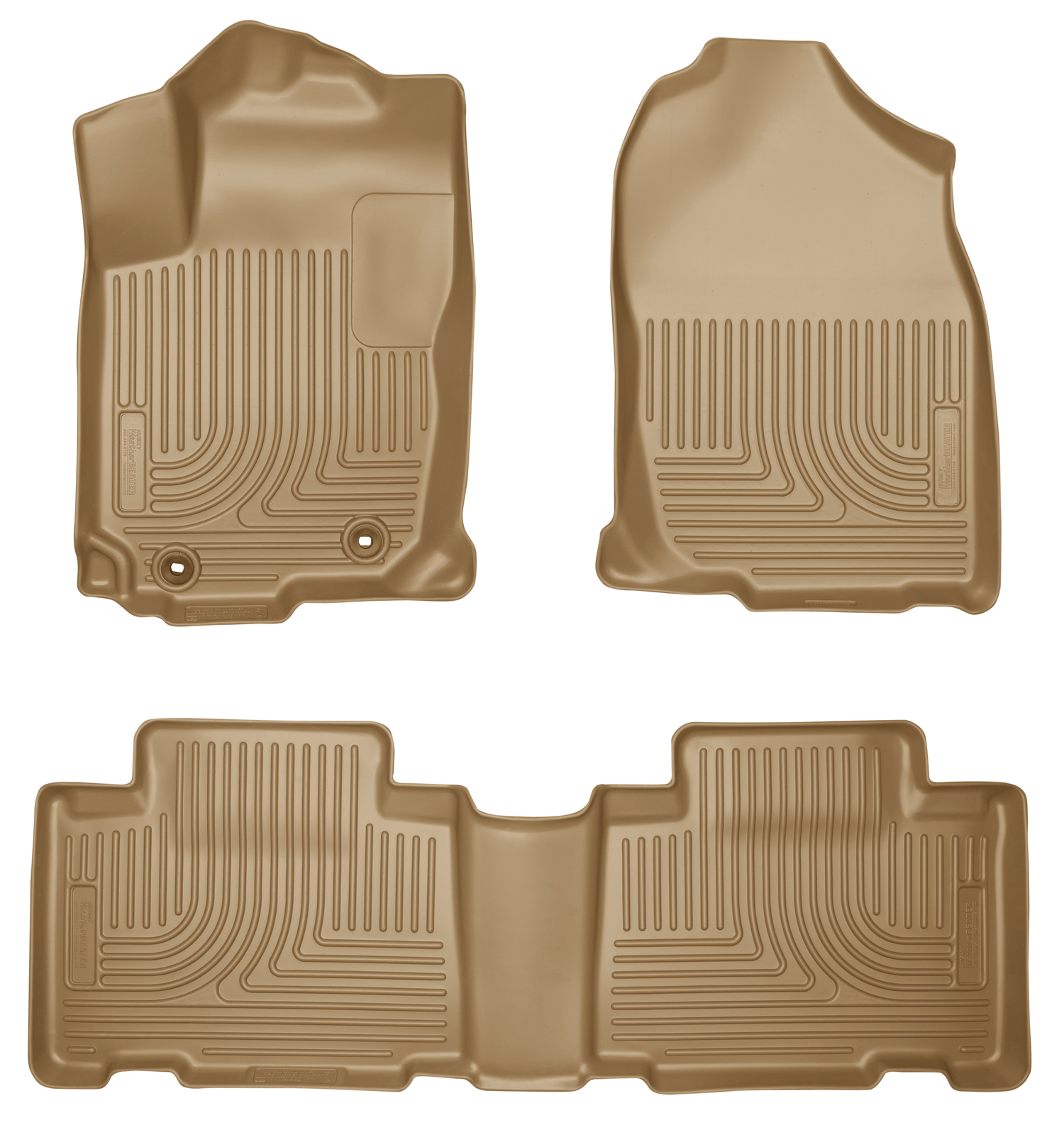 Husky Liners 98973 Front 2nd Seat Floor Liners