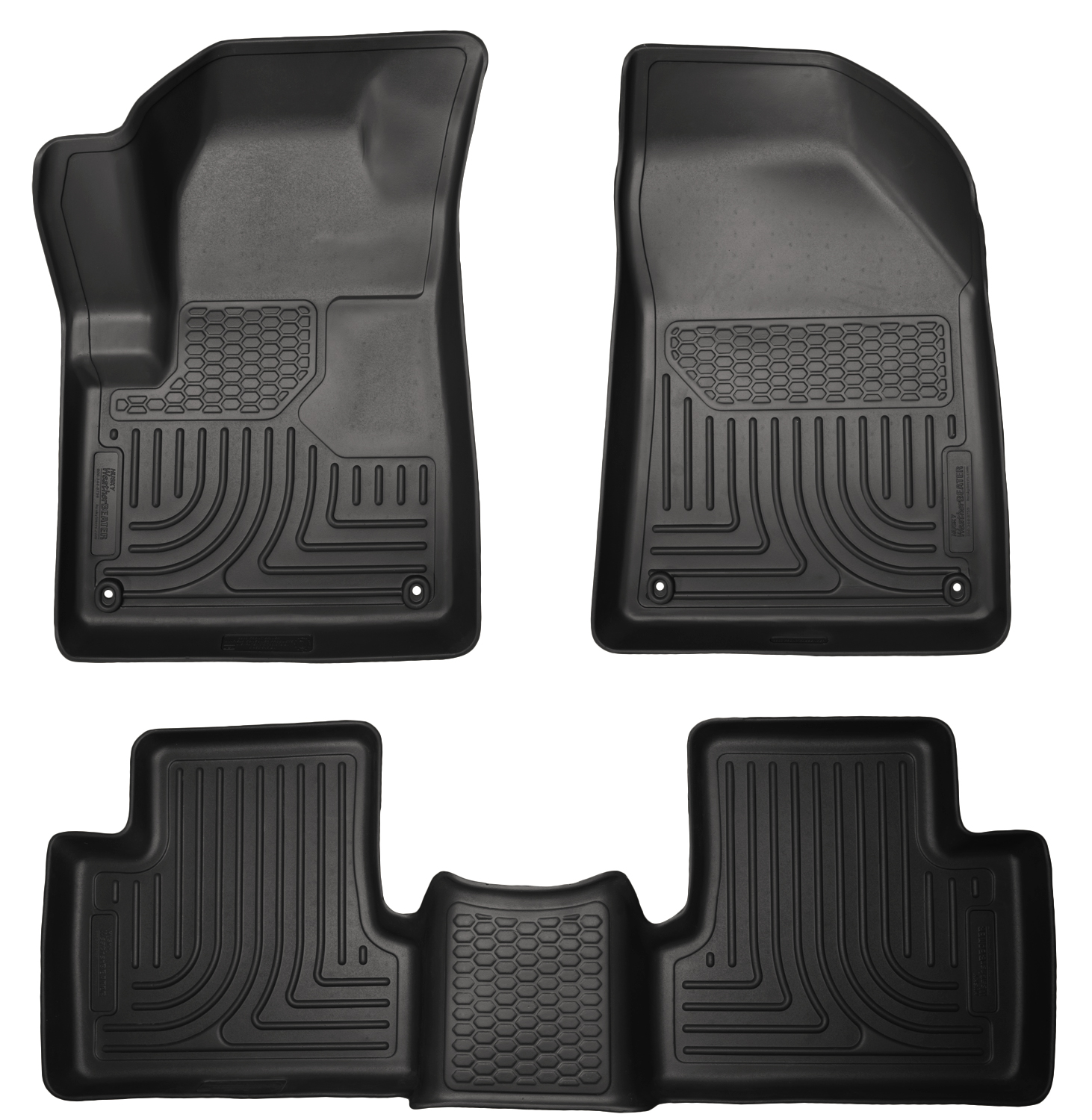 Husky Liners 99031 Front 2nd Seat Floor Liners