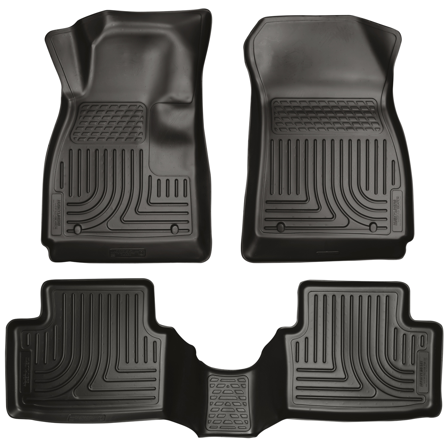 Husky Liners 99101 Front 2nd Seat Floor Liners