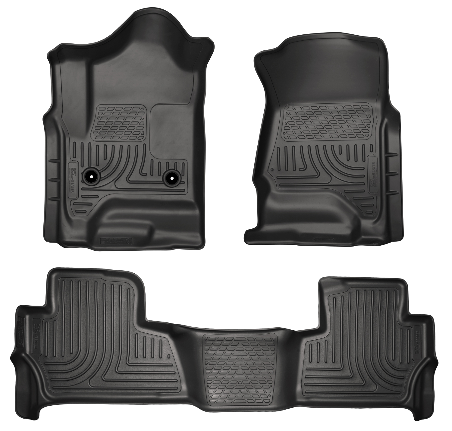 Husky Liners 99201 Front 2nd Seat Floor Liners