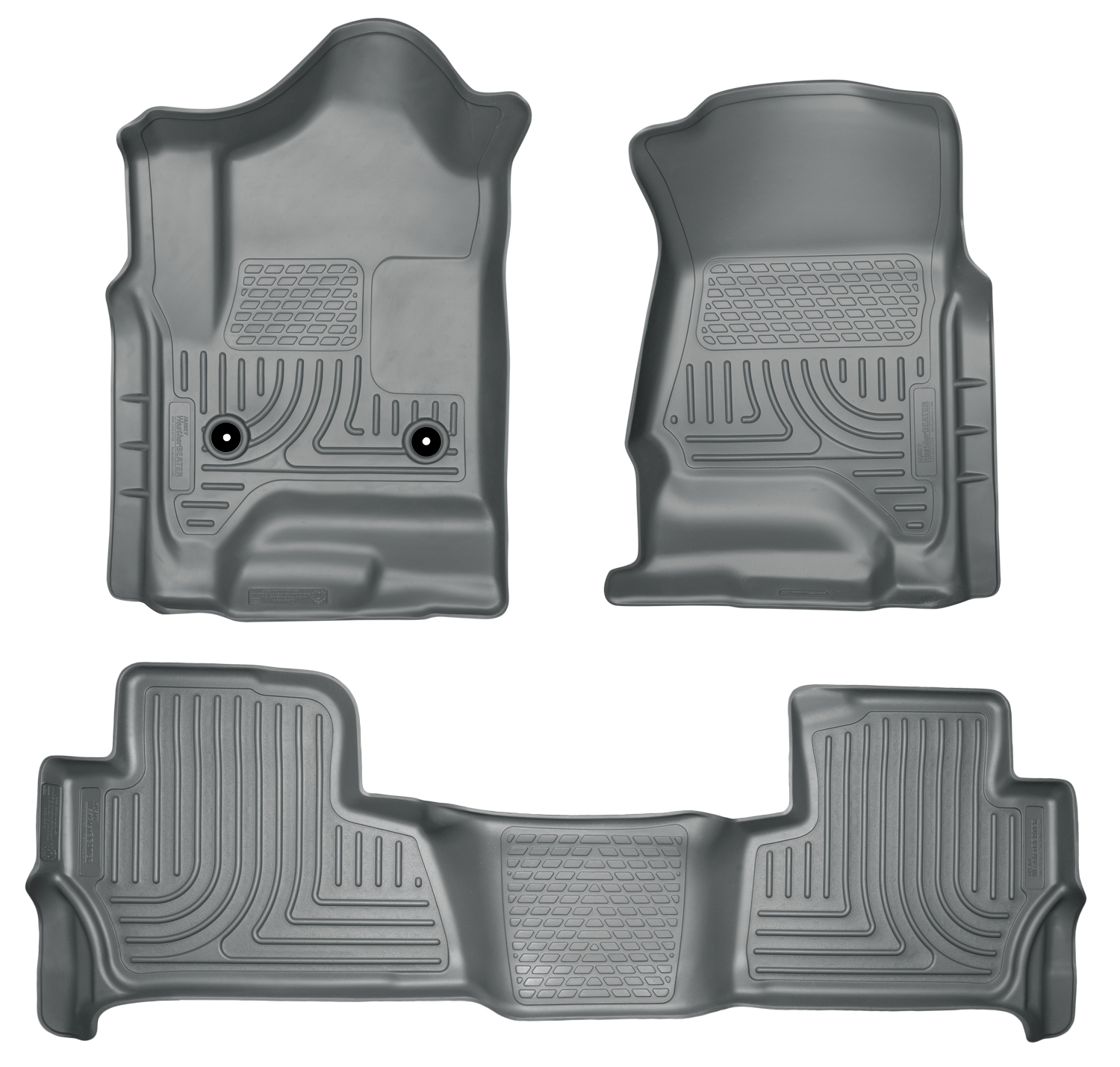 Husky Liners 99202 Front 2nd Seat Floor Liners