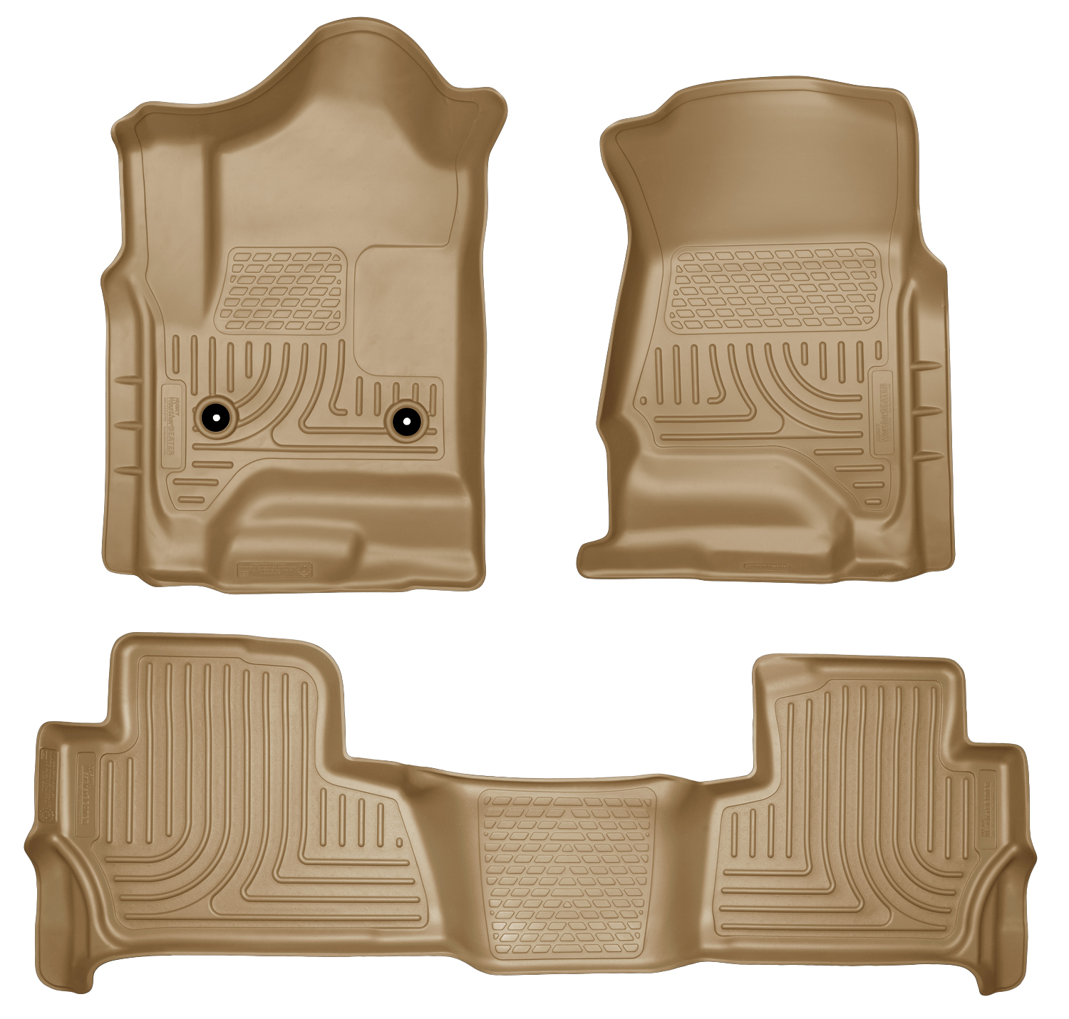 Husky Liners 99203 Front 2nd Seat Floor Liners