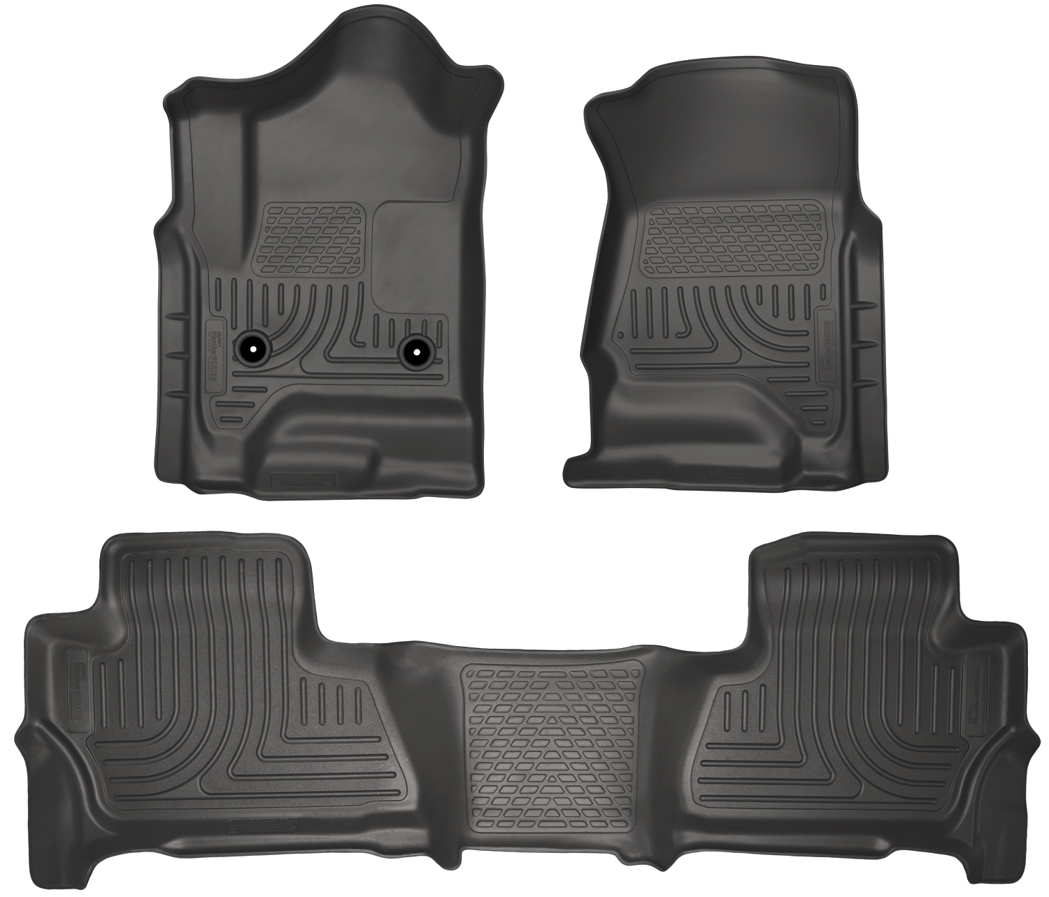 Husky Liners 99211 Front 2nd Seat Floor Liners