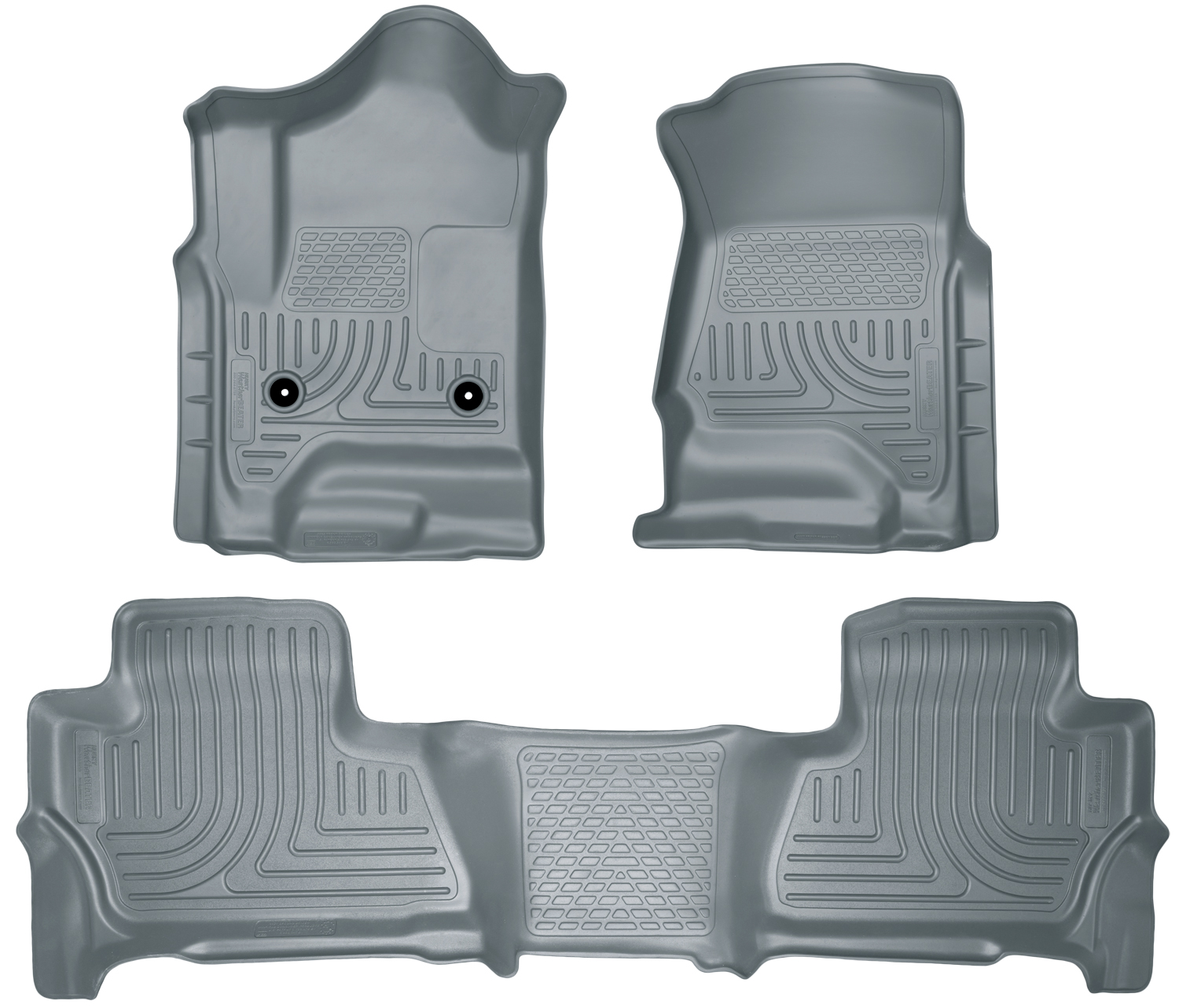 Husky Liners 99212 Front 2nd Seat Floor Liners