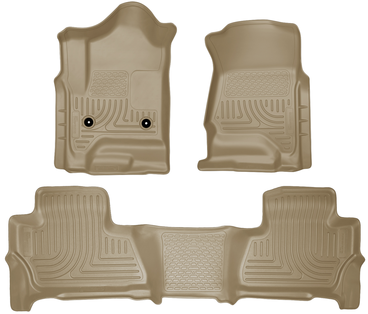 Husky Liners 99213 Front 2nd Seat Floor Liners