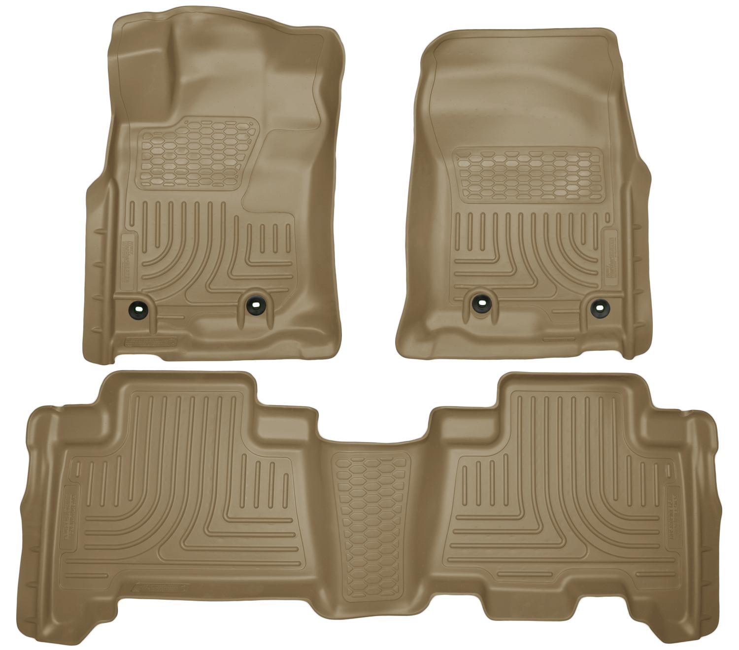 Husky Liners 99573 Front 2nd Seat Floor Liners