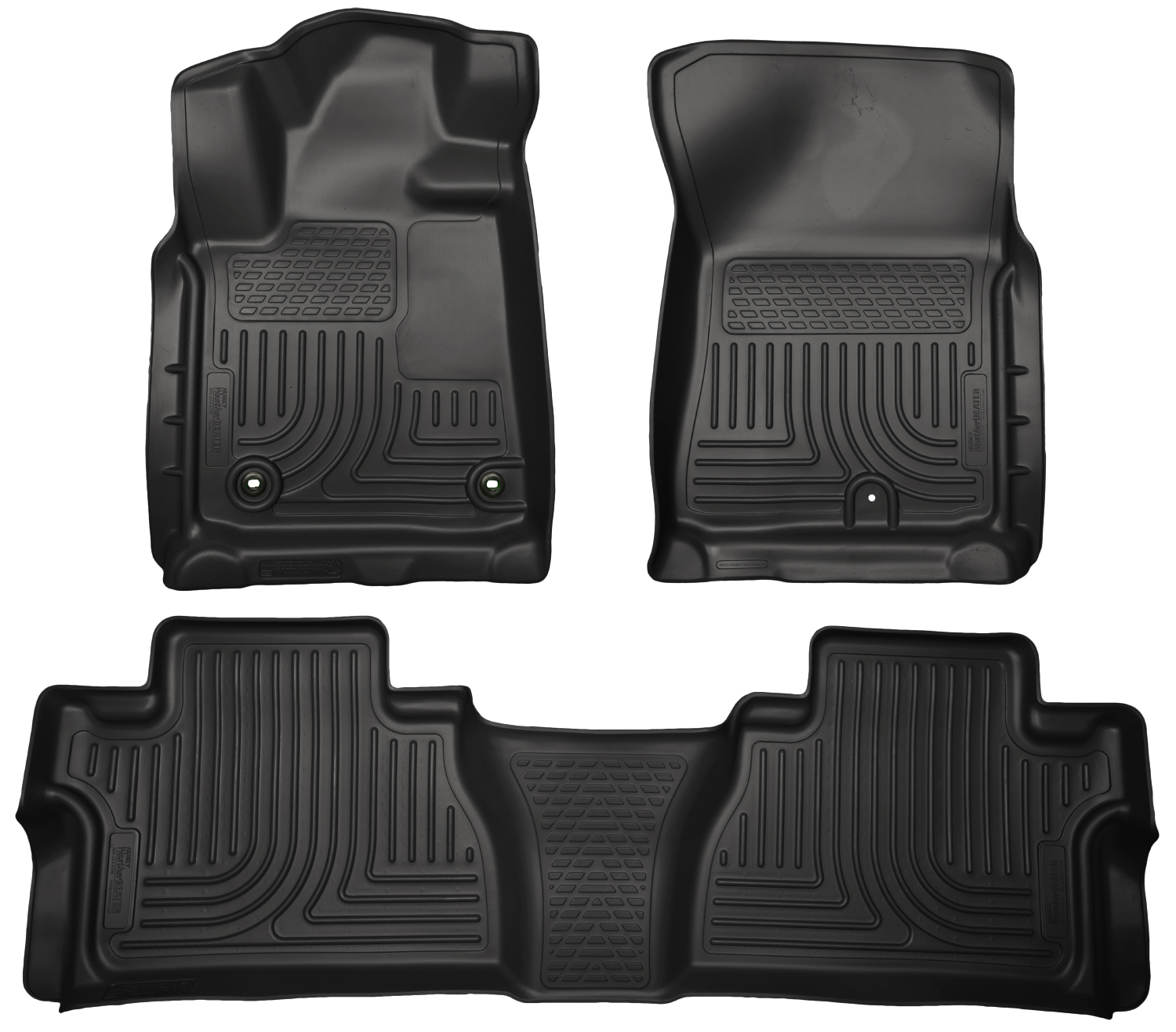 Husky Liners 99581 Front 2nd Seat Floor Liners