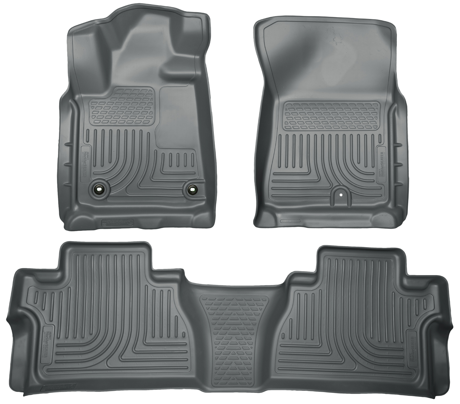 Husky Liners 99582 Front 2nd Seat Floor Liners