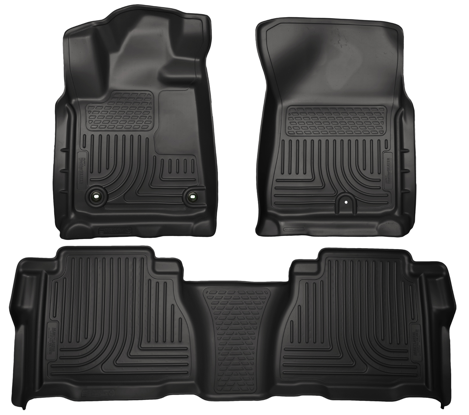 Husky Liners 99591 Front 2nd Seat Floor Liners