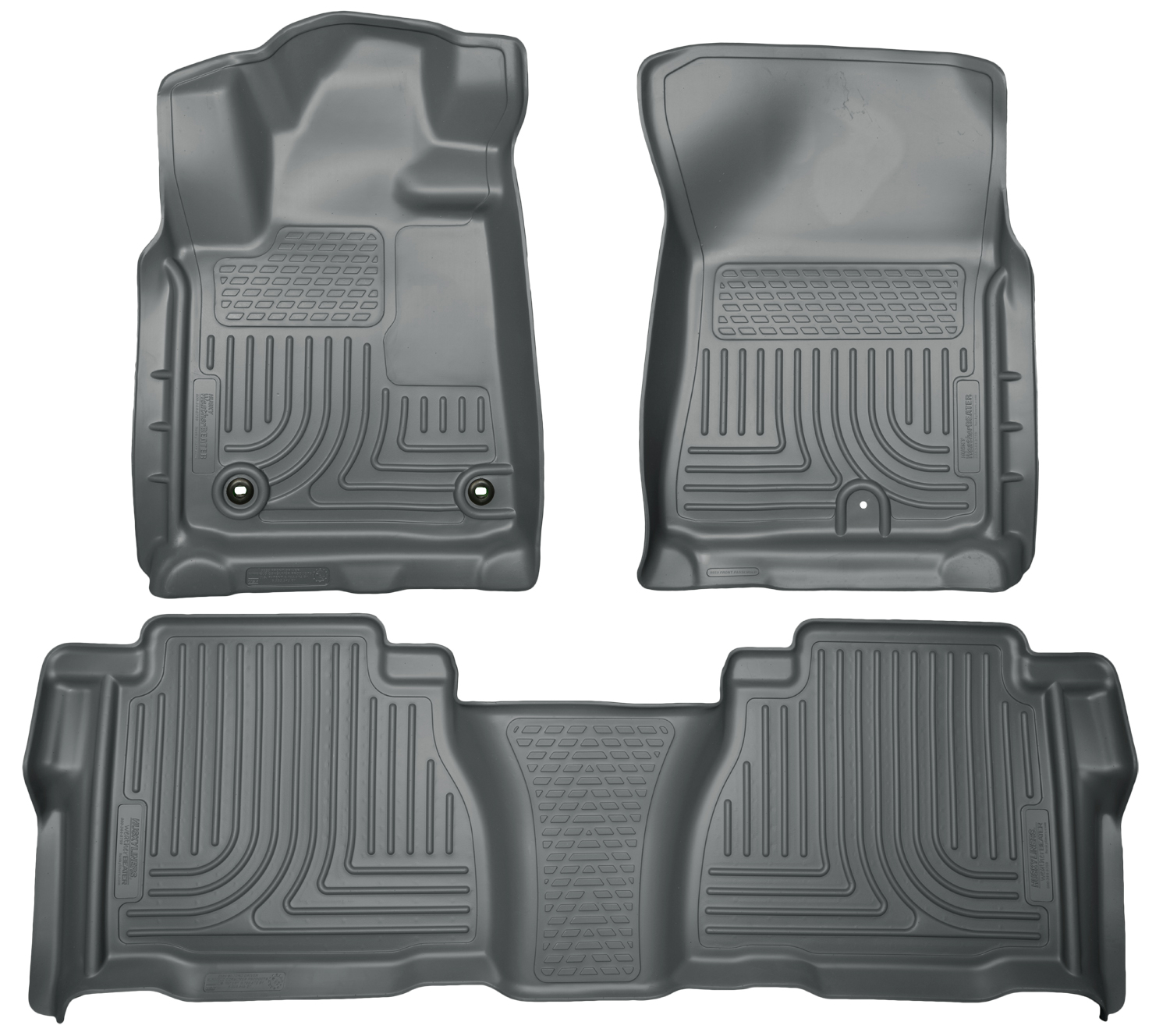 Husky Liners 99592 Front 2nd Seat Floor Liners