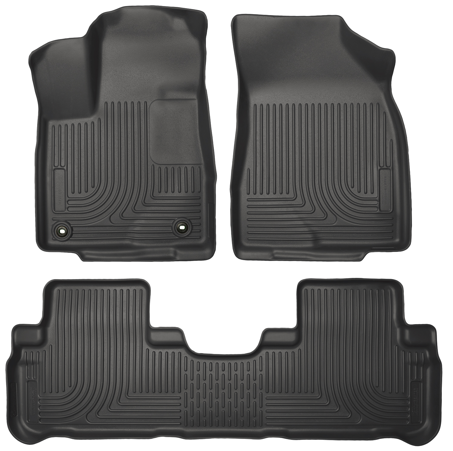 Husky Liners 99601 Front 2nd Seat Floor Liners