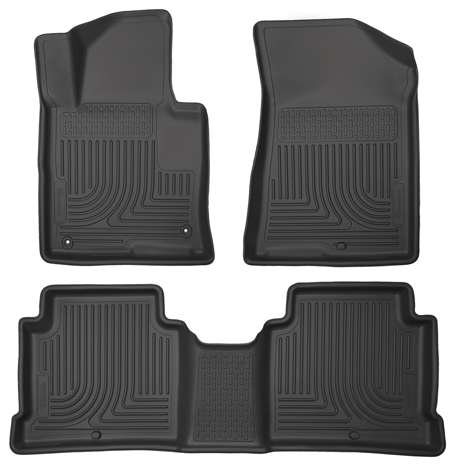 Husky Liners 99631 Front 2nd Seat Floor Liners