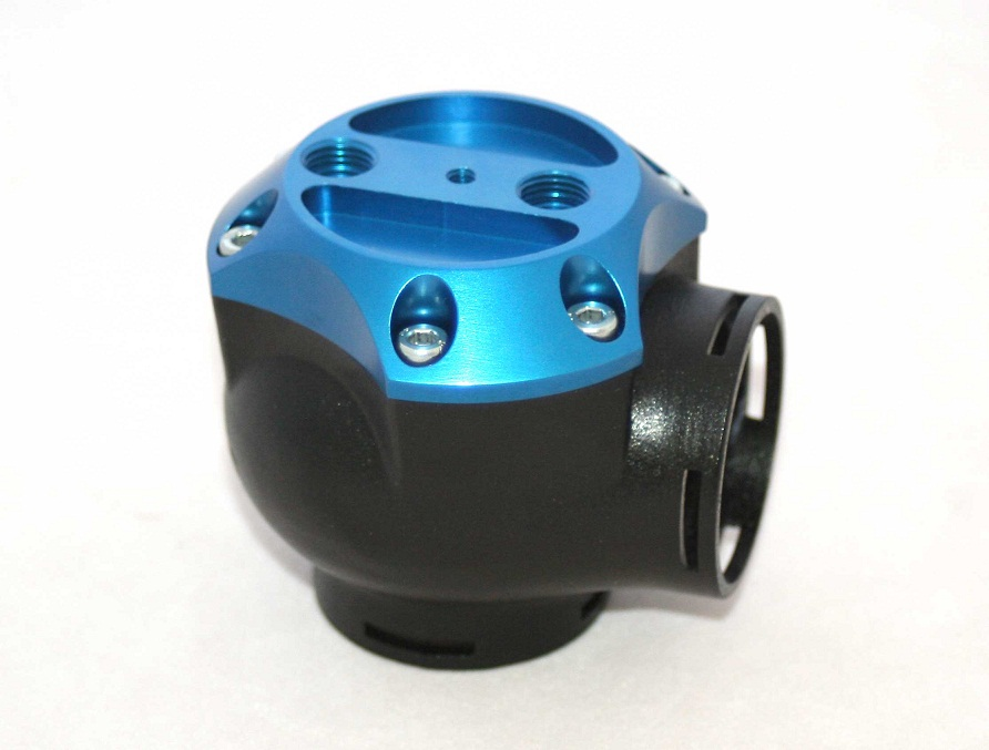 Synapse Engineering AC015B Synchronic DV Blue Color Top Cap Kit