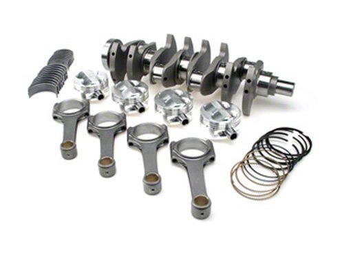 BC BC0253 TB48 Billet Crank Aluminum Rods Stroker Kit for Nissan