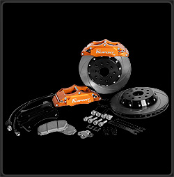 K Sport BKMT260-653SO Big Brake Kit for 2006 Mitsubishi