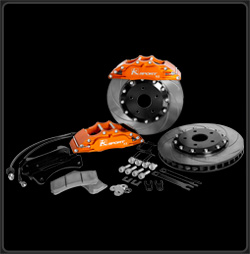 K Sport BKMT260-831SO Big Brake Kit for 2006 Mitsubishi