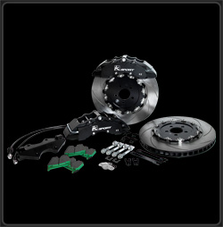 K Sport BKMT260-951SO Big Brake Kit for 2006 Mitsubishi