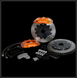 K Sport BKSB030-433SO Big Brake Kit for 1993-1998 Subaru Impreza