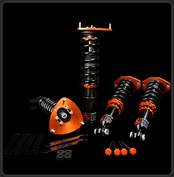 K Sport Kontrol Pro Coilover Kit for Acura CL 2001-2003