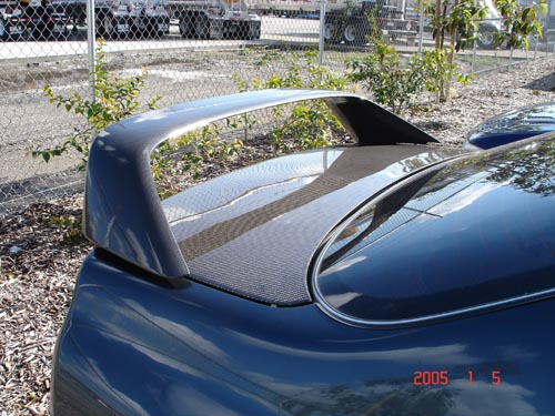 Megan Racing Carbon Fiber Spoiler for 94-01 Integra Type R Style