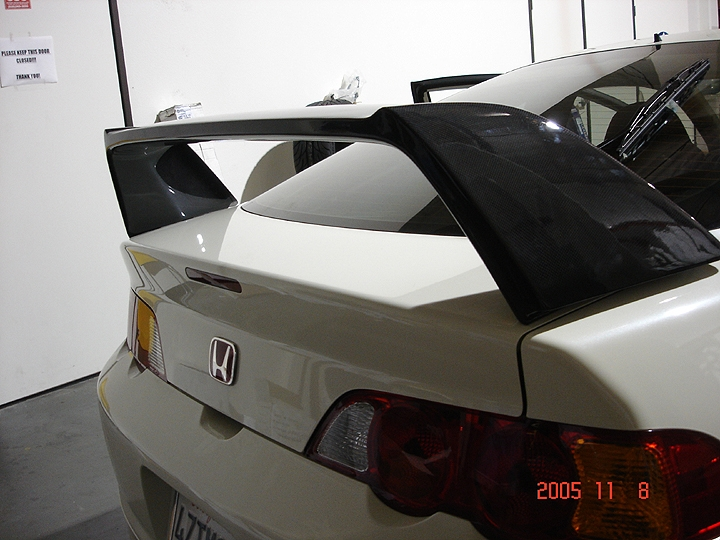 Megan Racing Carbon Fiber Spoilers for 02+ RSX