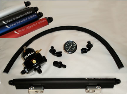 Fuel Injector Clinic FKIT EVO8/9 -6 Fuel Rail