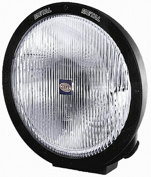 Hella Rallye 4000 Series Black Euro Beam 12V-H1/100W Lamp