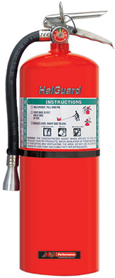 H3R Performance HG1550R Red Clean Agent Fire Extinguisher