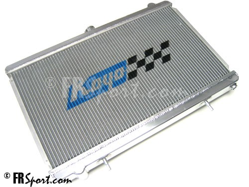 Koyo HH021687 Aluminum Racing Radiator for 04-10 Nissan 5.6L V8