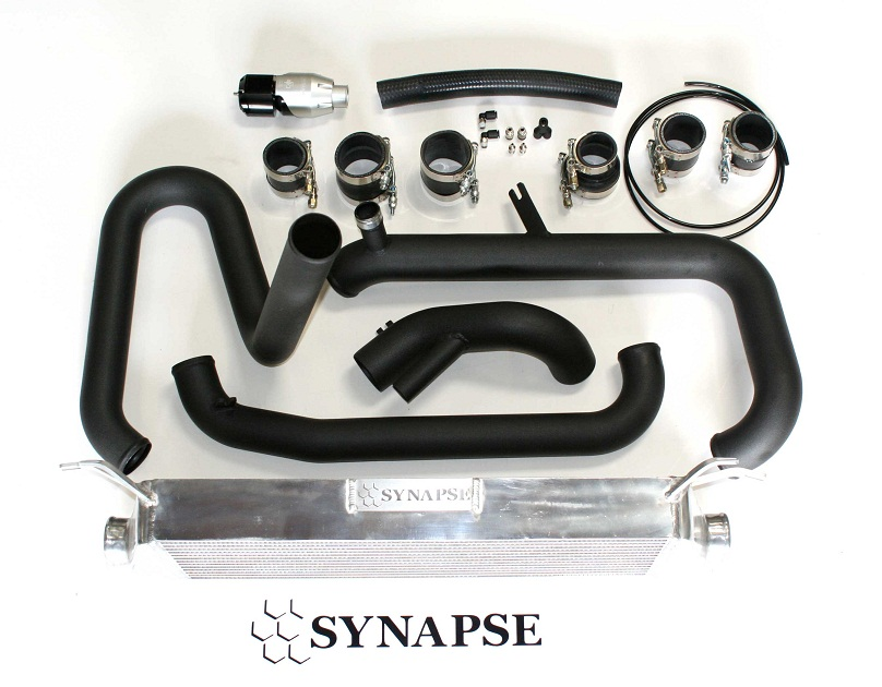 Synapse FMIC Kit for 07 - 09 Mazdaspeed 3 with Silver/Black SB