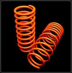 K Sport LSFD02 Lowering Springs for 2005-2010 Ford Mustang - Click Image to Close