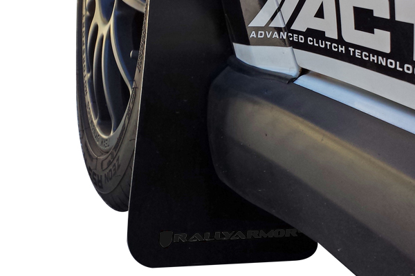 02-07 WRX & STI Rally Armor Mud Flaps Basic-Black with
