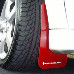 02-07 WRX & STI Rally Armor Mud Flaps Urethane - Red