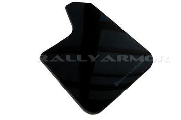 Rally Armor Universal fitment Urethane Black Mud Flap