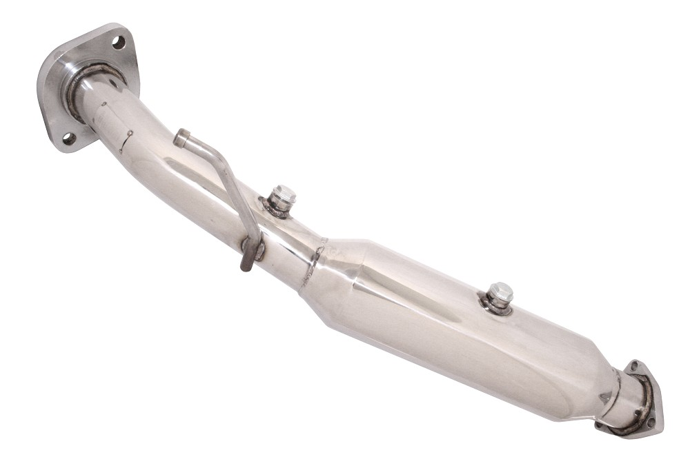 Megan T304 Stainless Steel Down Pipe for 06+ Honda Civic SI
