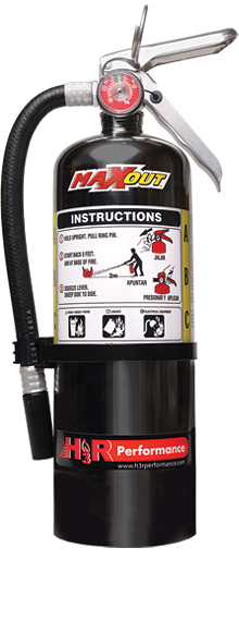 H3R Performance MX500B Dry Chemical Fire Extinguisher